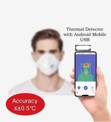 Mobile Phone Thermal Scanner - IR Fever Scanner, 1 meter social distance