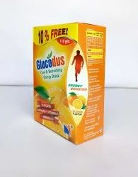 Glucodus Long Expiry Energy Drink, Packaging Size: 110gms, Packaging Type: Carton