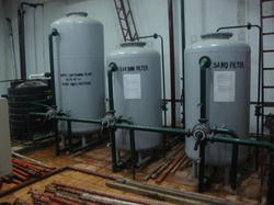 Sand Filters or Pressure Sand Filter (PSF)