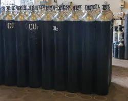 Carbon Steel CO2 Gas Cylinder, 150-200 Bar, 4.5 Kg