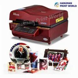 3D Hot Press Machine, Size/Dimension: 470x590x290Mm (Size)