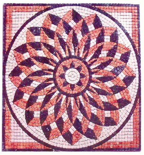 Indoor Mosaic Medallion