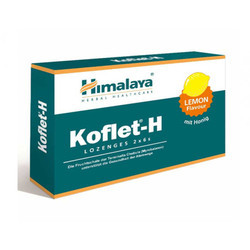 Koflet-H Lemon Lozenge Tablets