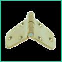 Trapezoid Hinge (brass)