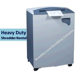 Heavy Duty Paper Shredder Rental