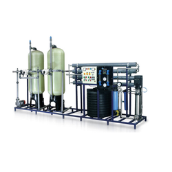 Semi Automatic Water Filtration Plant