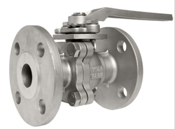 2PC Flanged Ends Full Bore Ball Valve