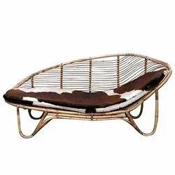 Brown Ira Cane Sofa