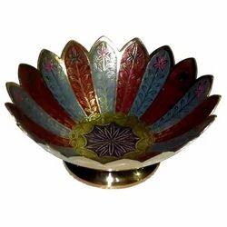 Brass Lotus Bowl