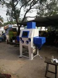 Hand Cabinet Blasting Machine with Conveyor