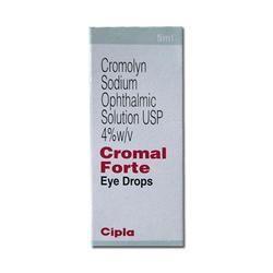 Cromolyn Sodium Ophthalmic Solution Eye Drops