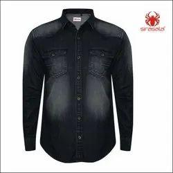 Work Wear Industrial Denim Shirts