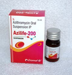 Azythromycin 200mg Suspension
