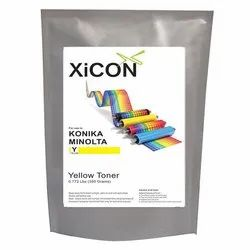 XICON Konika Yellow 350g Color Single Toner for Konika Minolta Yellow Toner 350g