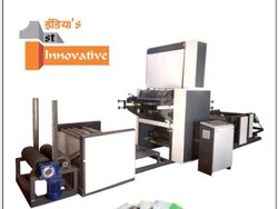 Rentech Mild Steel Roll To Roll Flexo Printing Machine