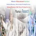 Pharmacy Medical Thesis Writing Service