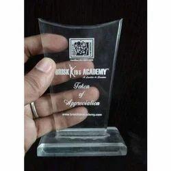 Brisk Kids Appreciation Acrylic Trophy
