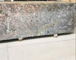 Thick Slab Polished SGM Green Granite Slab for Countertops, Thickness: 15-20 mm