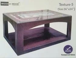 Modern 36x24 Texture 5 Coffee Table, For Home