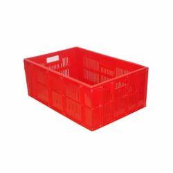 Rectangular Mesh Plastic Bakery Crate, Capacity: 50 Liters (approx)