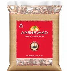 Aashirvaad 5 Kg Chakki Atta For Chapatis, Packaging: Plastic