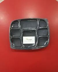 Plastic Meal Tray 8 CP