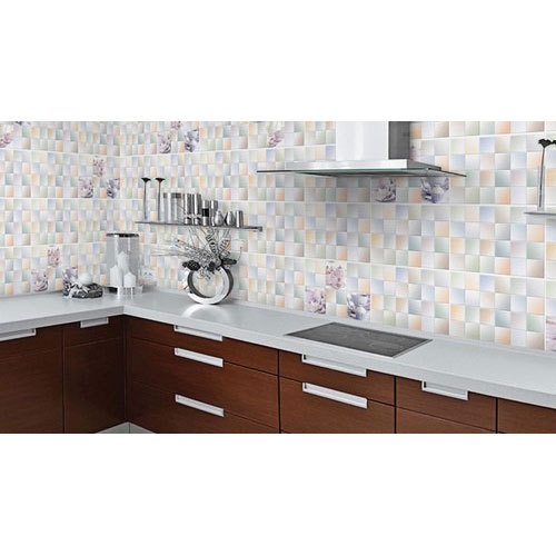 Glossy Kitchen Wall Tile At Rs 25 Square Feet Glossy Kitchen Tiles Id 19317800312