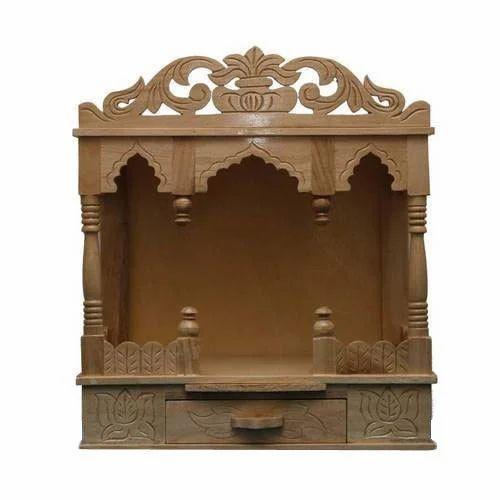 Wooden Pooja Mandir