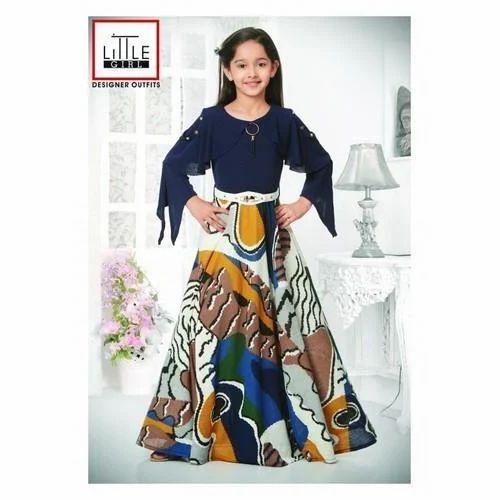 2ec239e89 Little Girl Stitched Girls Designer Gown