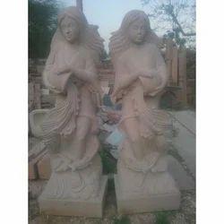 Stone Ladies Statue