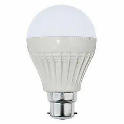 Round Cool daylight 5 W Ceramic LED Bulb