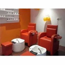 PCMC-1012 Orange Pedicure Chair