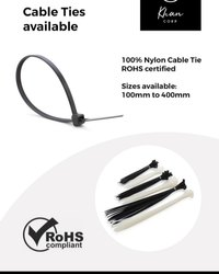 Black Nylon Cable Tie