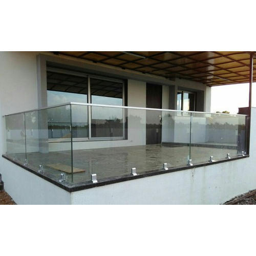 Aluminium Glass Railing Systems - Aluminum Glass Railing