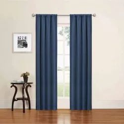 Cotton Solid Woven Door Curtain