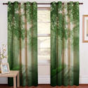 Fancy Digital Nature Print Curtain