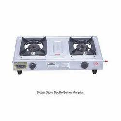 Biogas Stove Double Burner Mini Plus