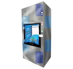 Interactive Disinfectant Tunnel Kiosk