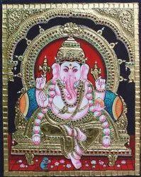Vinayagar Tanjore Painting