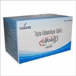 Alfalog Alpha Ketoanalogue Tablet, Packaging Size: 10x10 Tablets, For Hospital