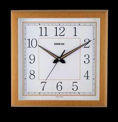 L-Wood Plastic Ajanta Oreva Standard Wall Clocks, Model Number: AQ5177