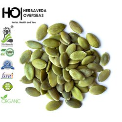 HERBAVEDA Green Pumpkin Seeds / Green Pumpkin Kernels, For Personal, Pack Size: 25 Kgs