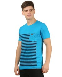 Mens Round Neck T Shirt With Pocket