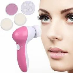 5 In 1 Face Massager For Facial, Beauty Care Massager For Removing Blackhead Exfoliating And Massage