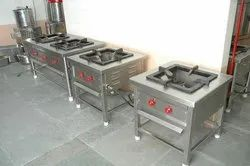 SS Single Burner Cooking Range