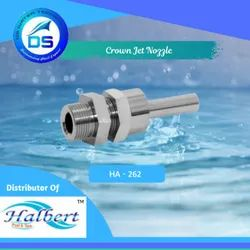 Fountain Crown Jet Nozzle