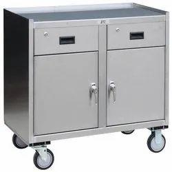 Rectangle Silver SS Storage Box