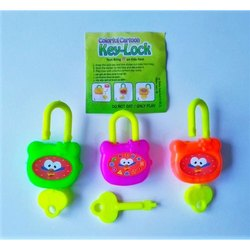 Key Lock Promotional Toys