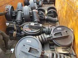Excavator Idlers and Spring / Track Adjuster