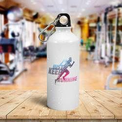 Advertising, Logo Promotional Custom Aluminum Bottle